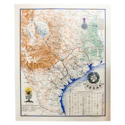 John Davis Map 1836 Print