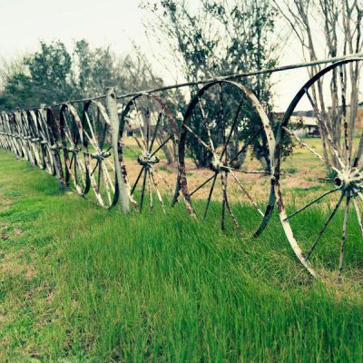 Carol Highsmith Wagon Wheel Fence, Fayette County