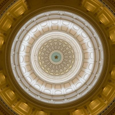 Carol Highsmith The Dome of the Texas Senate Chamber