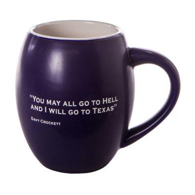 Davy Crockett Quote Ceramic Mug
