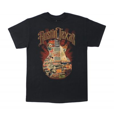 Austin Texas Live Music T-shirt