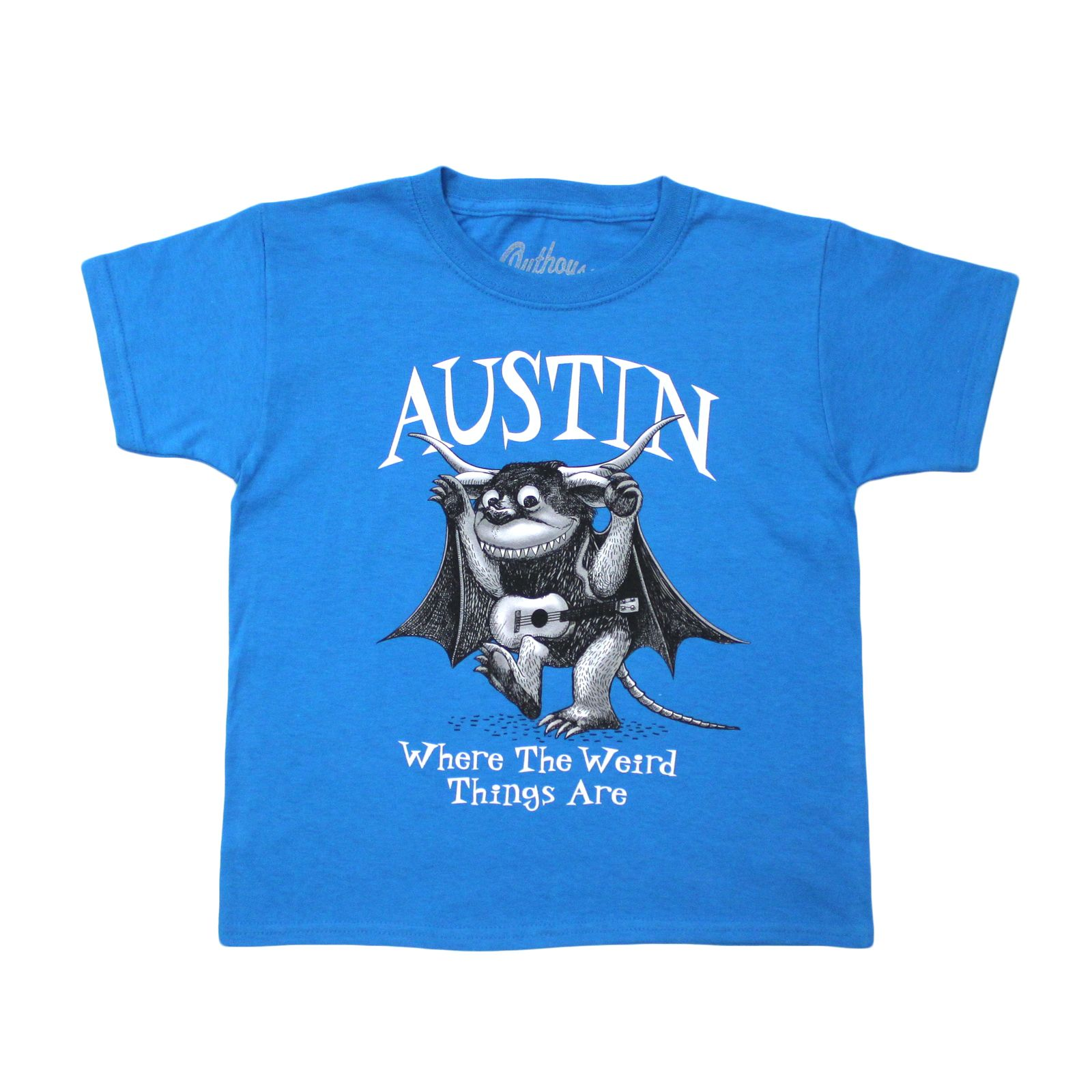 Austin Where the Weird Things Are T-shirt