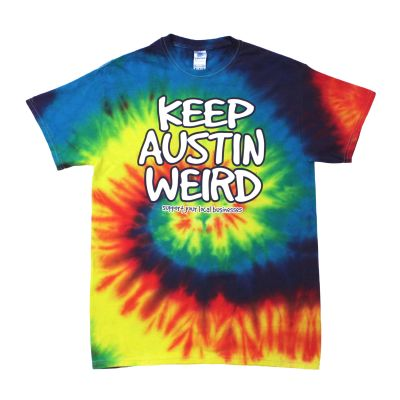 Keep Austin Weird Tie Dye T-shirt