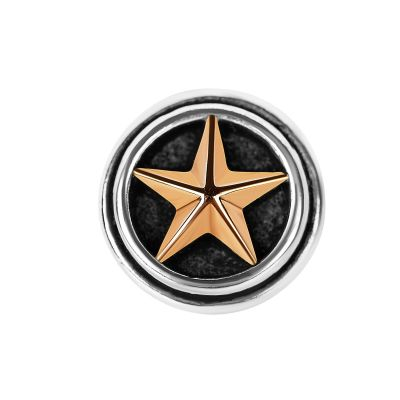 Sterling Silver Lone Star Lapel Pin
