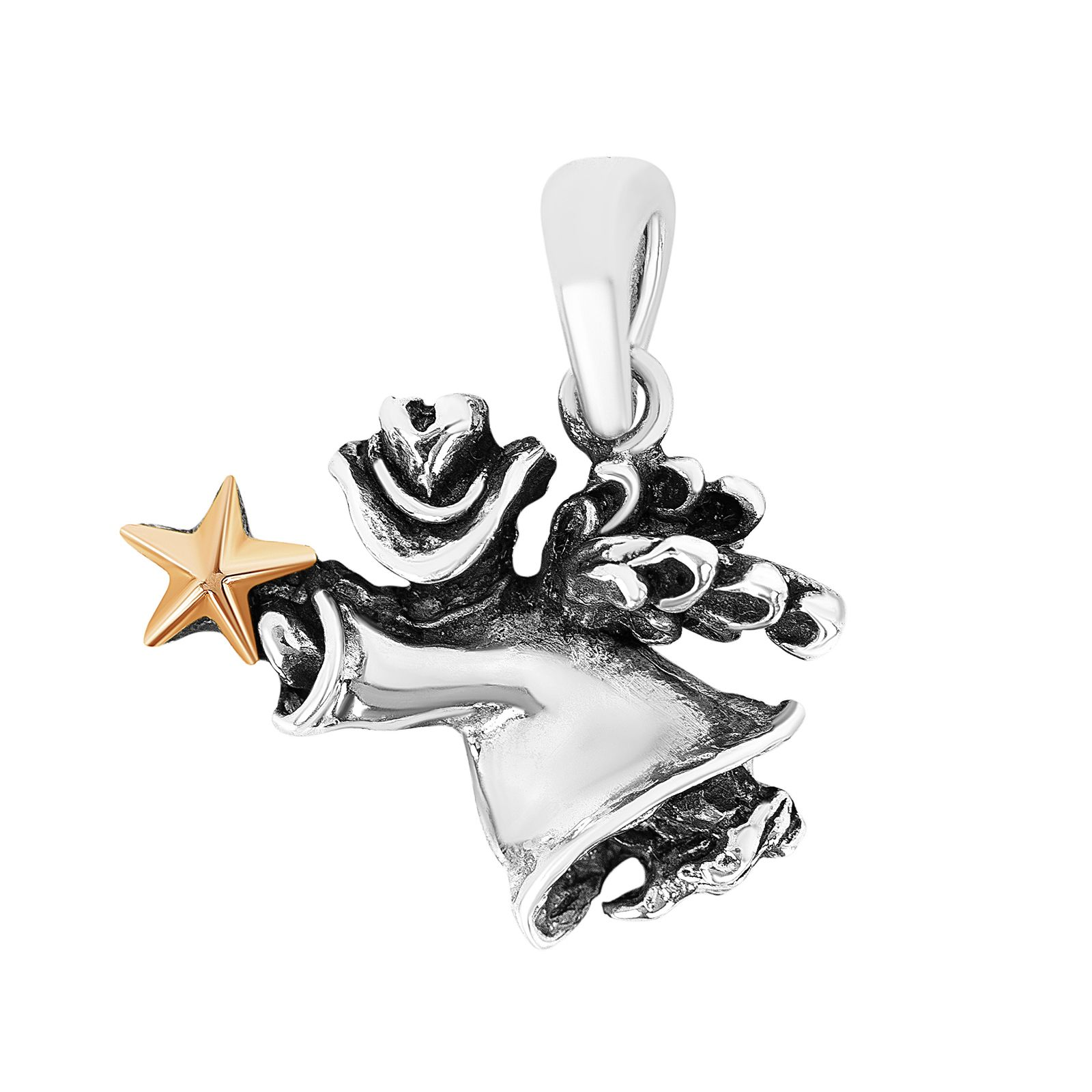 Texas Angel Sterling Silver Pendant