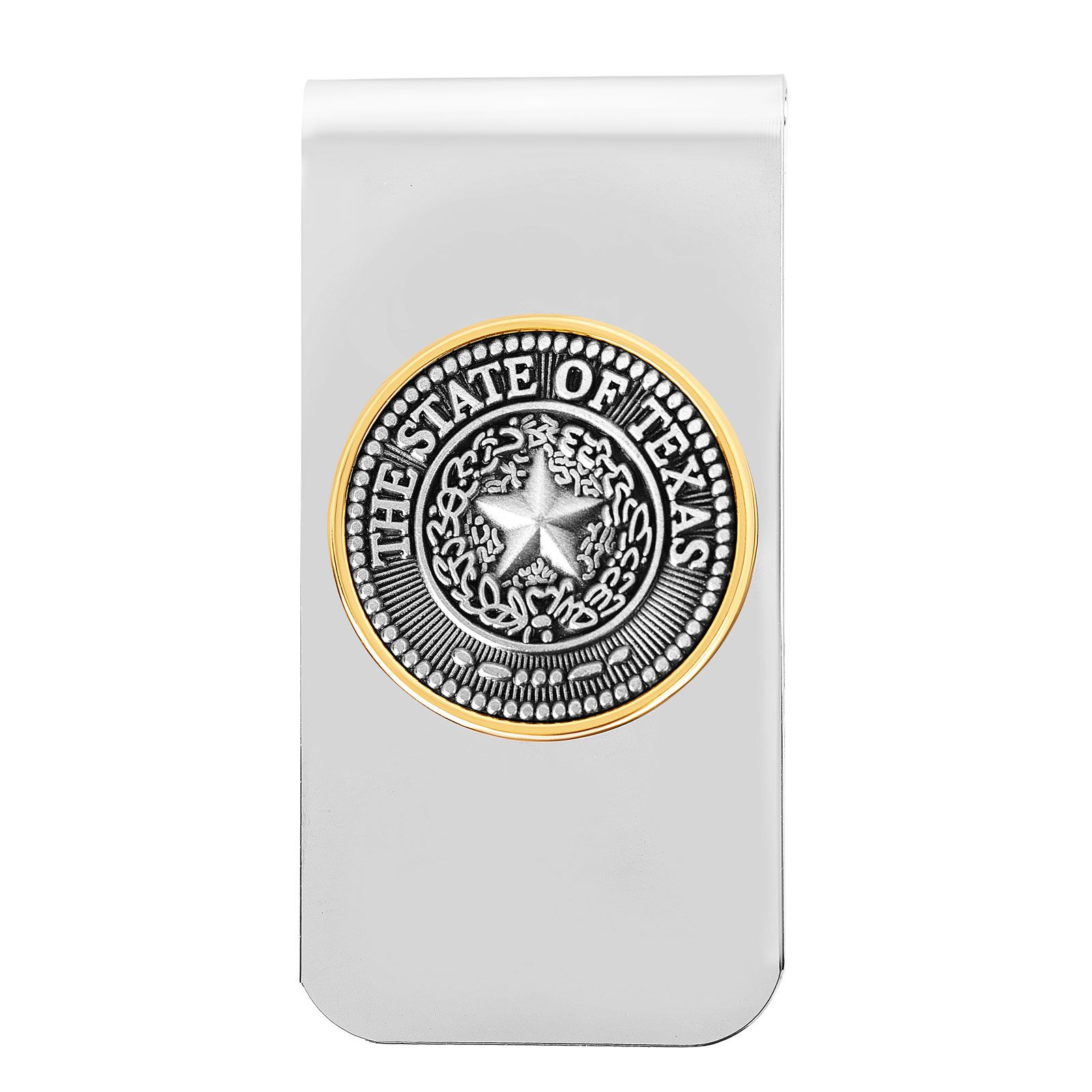 State Seal Metal Money Clip