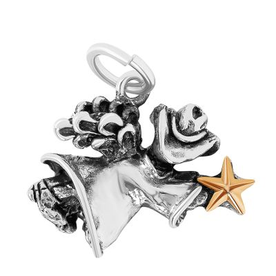 Texas Angel Sterling Silver Charm