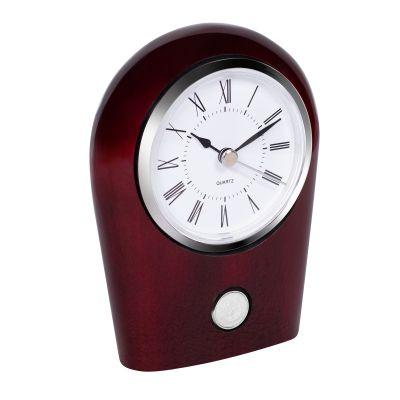 State Seal Rosewood Desk Clock
