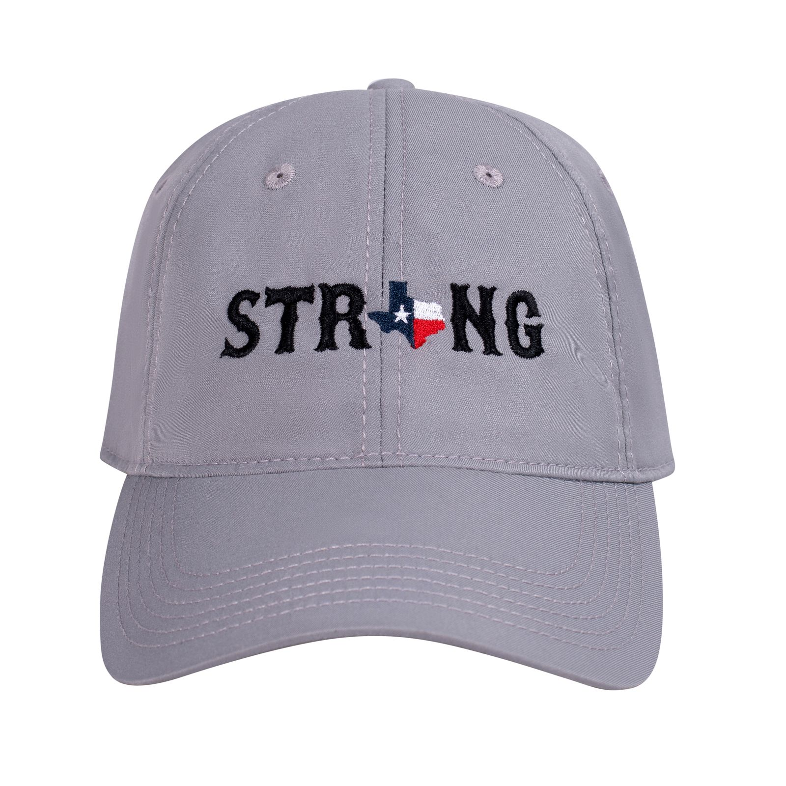 Texas Strong Gray Cool Fit Cap