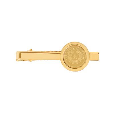 State Seal Gold Plated Tie Bar