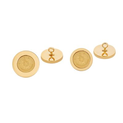 State Seal Gold-Plated Blazer Button Set