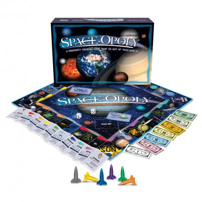 Space-Opoly Board Game