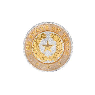 Texas State Seal Duo-Tone Lapel Pin