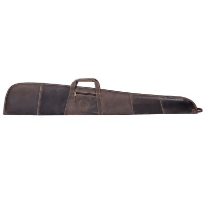 Texas State Seal Leather Rifle Case