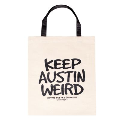 Keep Austin Weird Canvas Tote