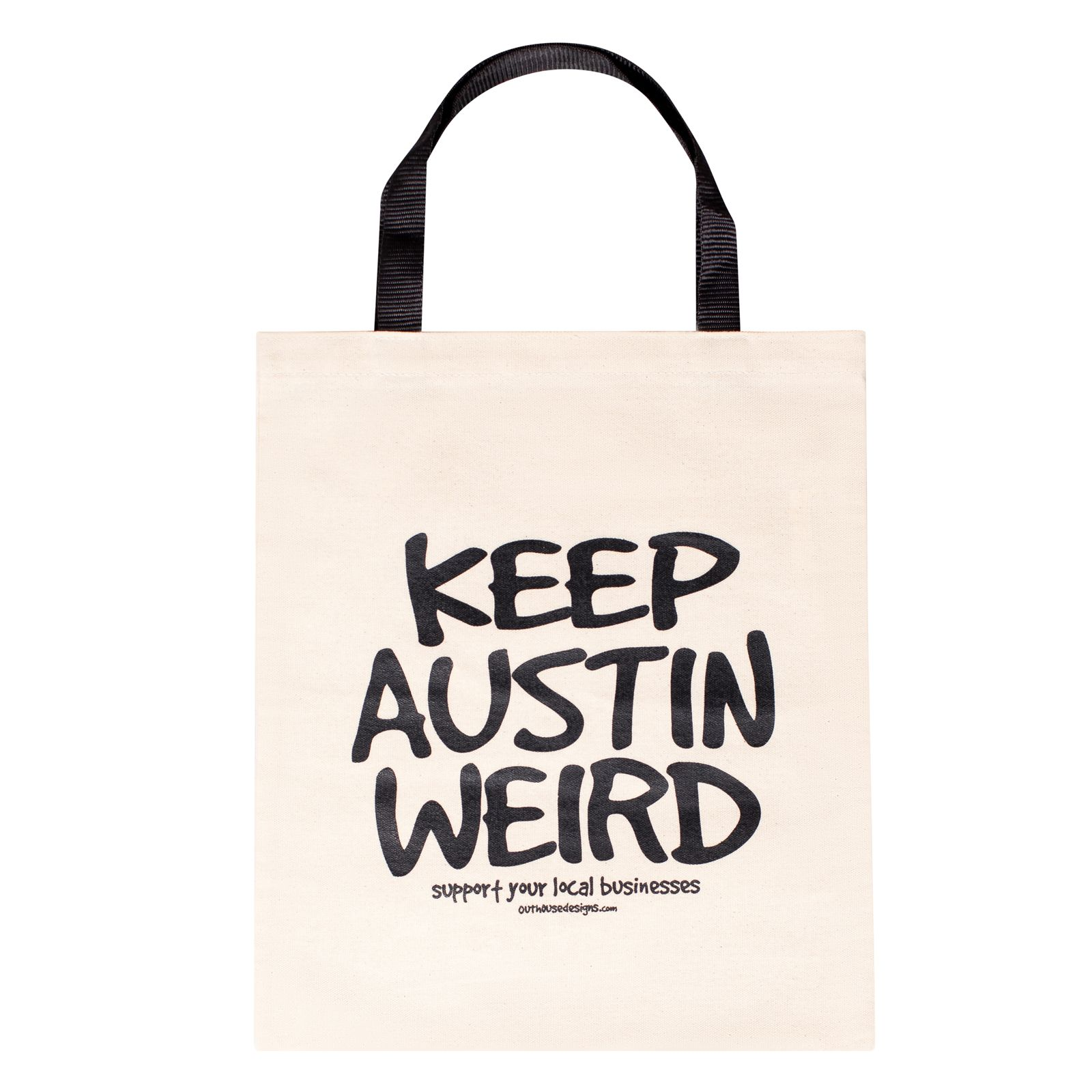 Keep Austin Weird Canvas Tote