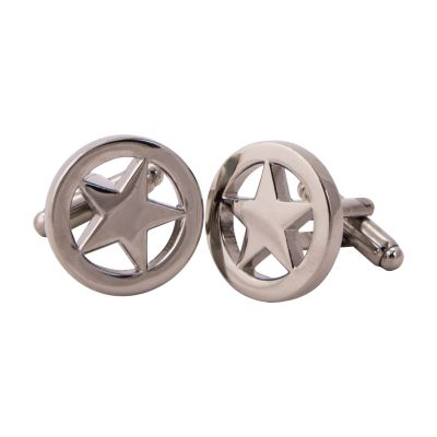 Lone Star Sterling Silver Cuff Links