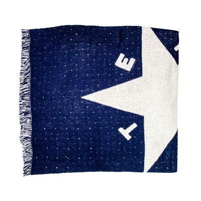 First Flag of the Republic of Texas Cotton Jacquard Throw