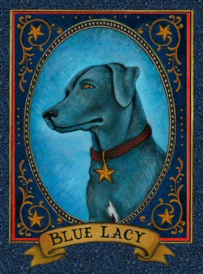 Aletha St. Romain Blue Lacy - State Dog of Texas
