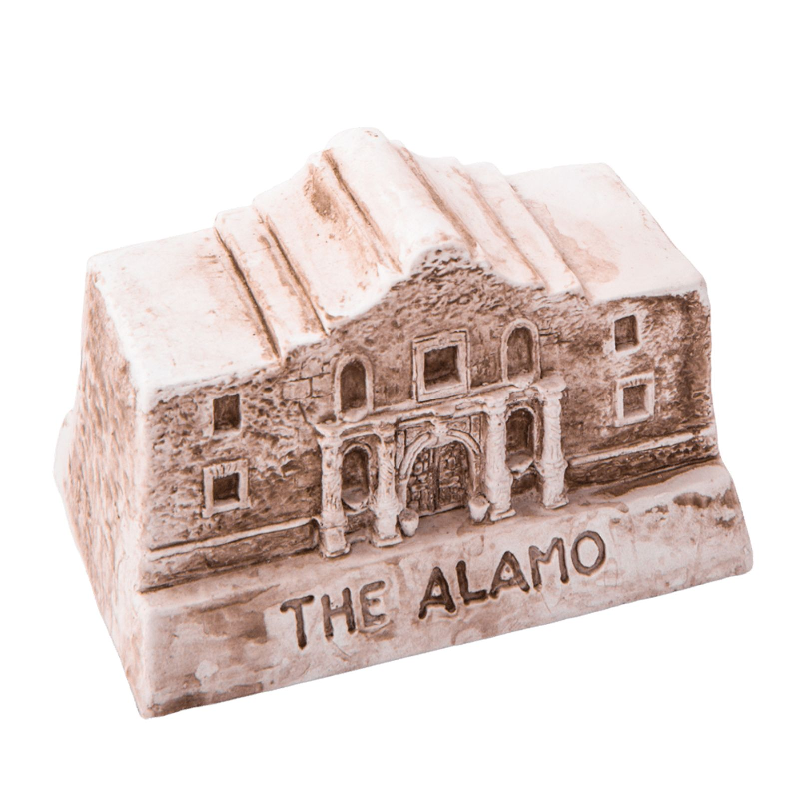 Alamo Clay Replica Paperweight