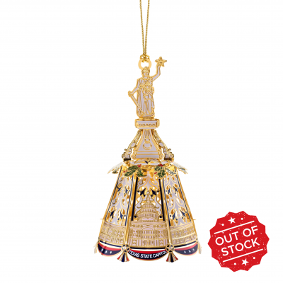 Goddess of Liberty Lighted Ornament