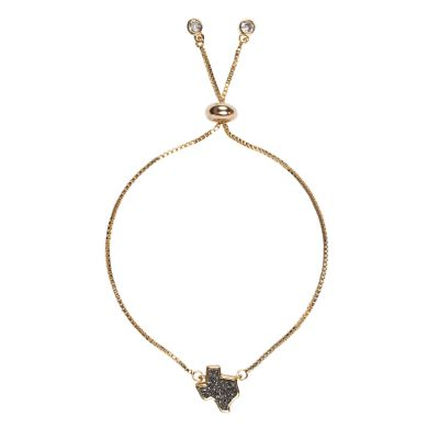Texas Silver Druzy Bracelet