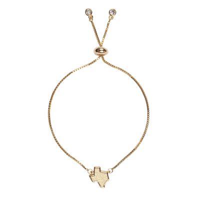 Texas White Druzy Bracelet