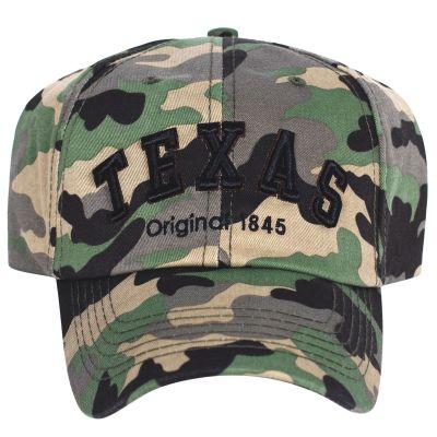 Texas Camouflage Baseball Cap
