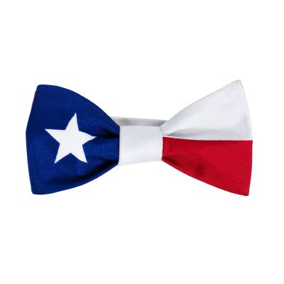 Texas Flag Silk Bow Tie