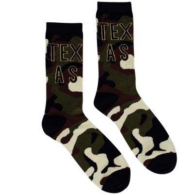 Texas Camouflage Socks