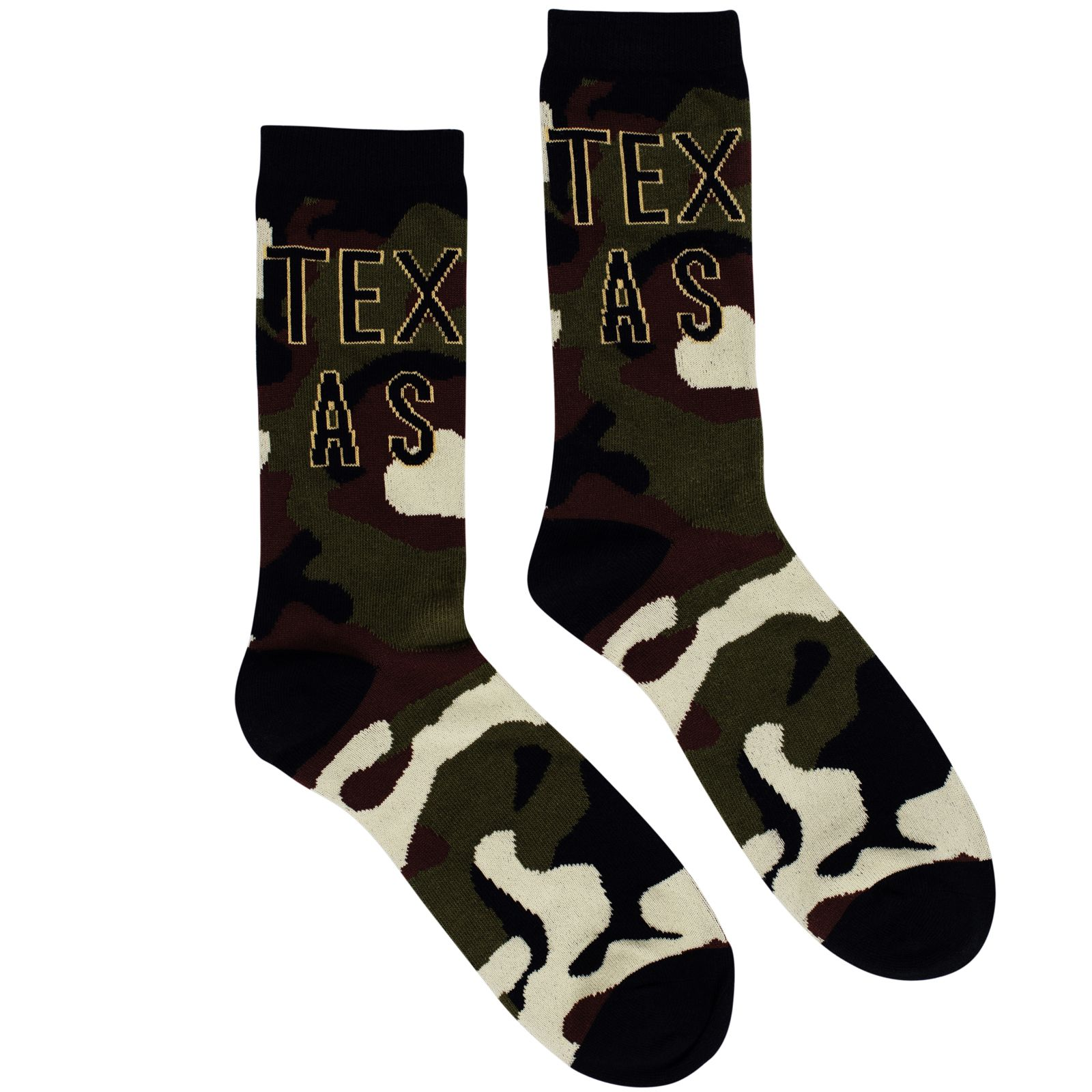 Texas Camouflage Socks