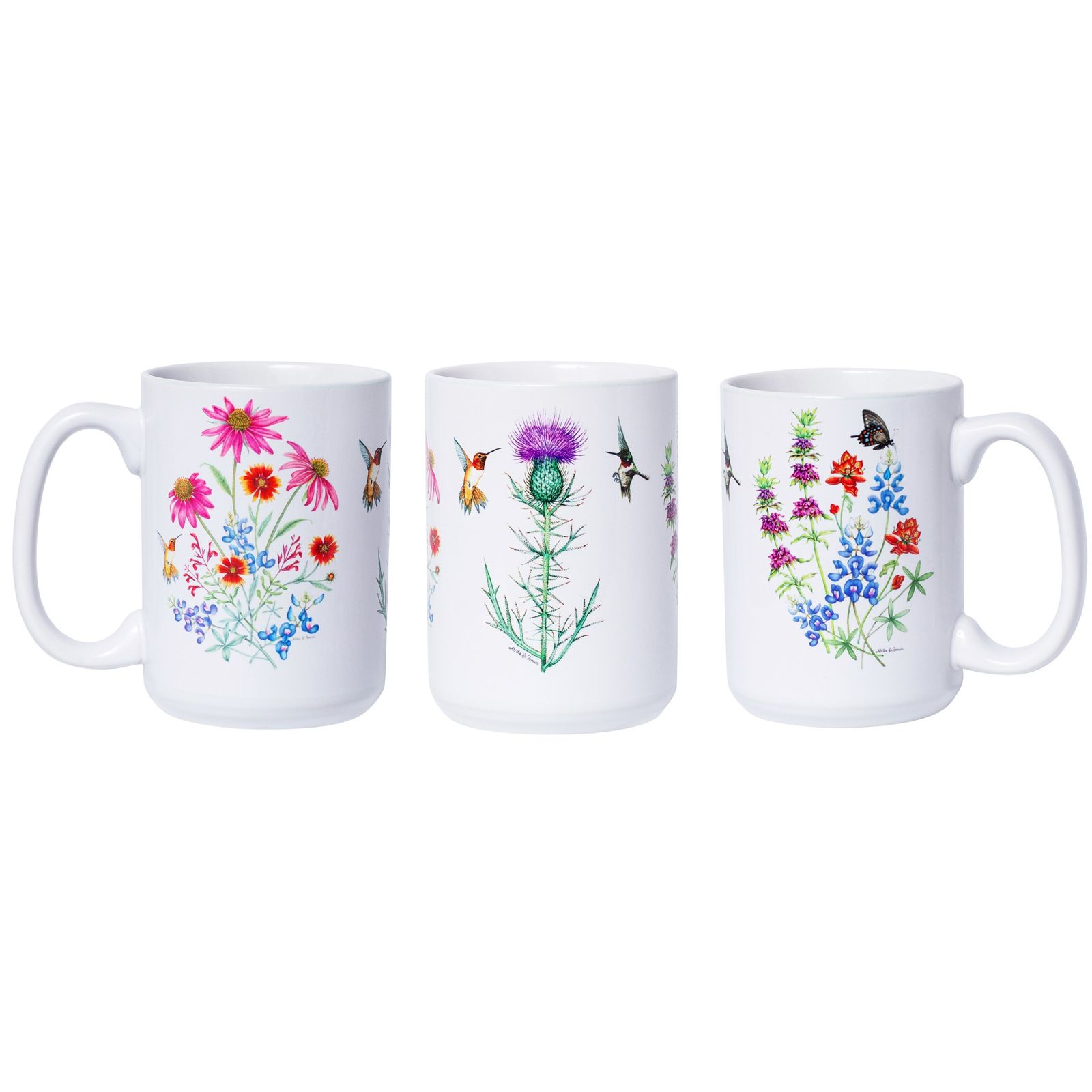 Aletha St. Romain Wildflower Ceramic Mug