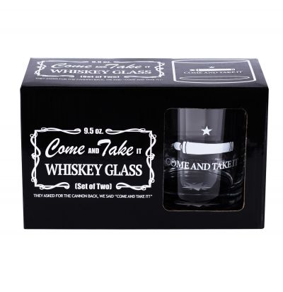 Gonzales Flag Whiskey Glass Set