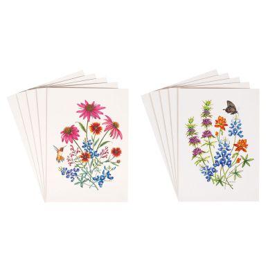 Aletha St. Romain Wildflower Blank Notecard set of 10