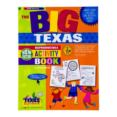 Big Texas Kids Activity Book