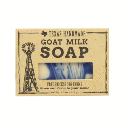 Fredericksburg Farms Texas Bluebonnet Goat Milk Bar Soap