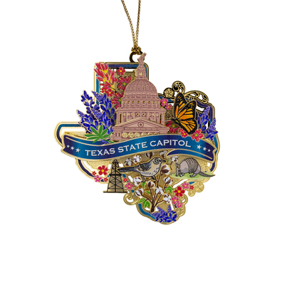 All Things Texas Ornament