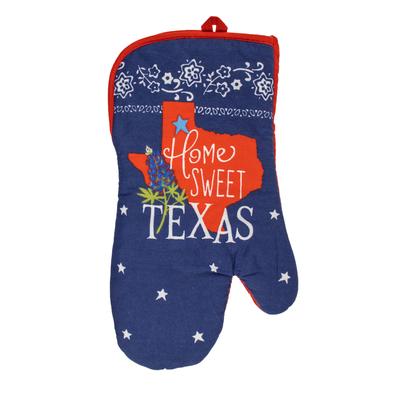 Home Sweet Texas Oven Mitt