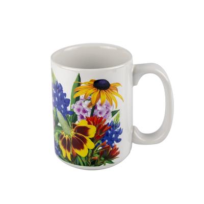 Texas Wildflowers Ceramic Mug