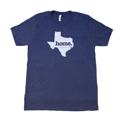 Texas Home Blue Adult T-Shirt