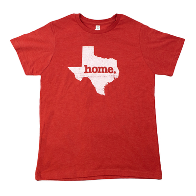 Texas Home Red Youth T-Shirt