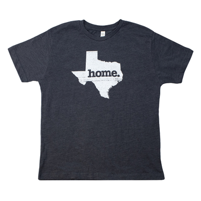 Texas Home Grey Youth T-Shirt