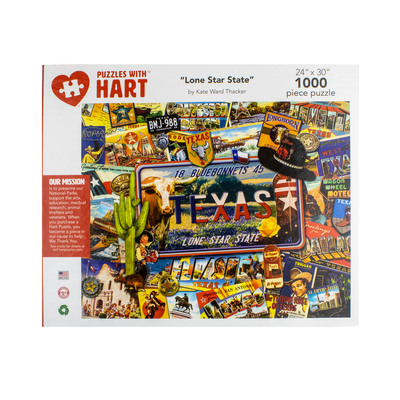 Lone Star State 1000 Piece Puzzle