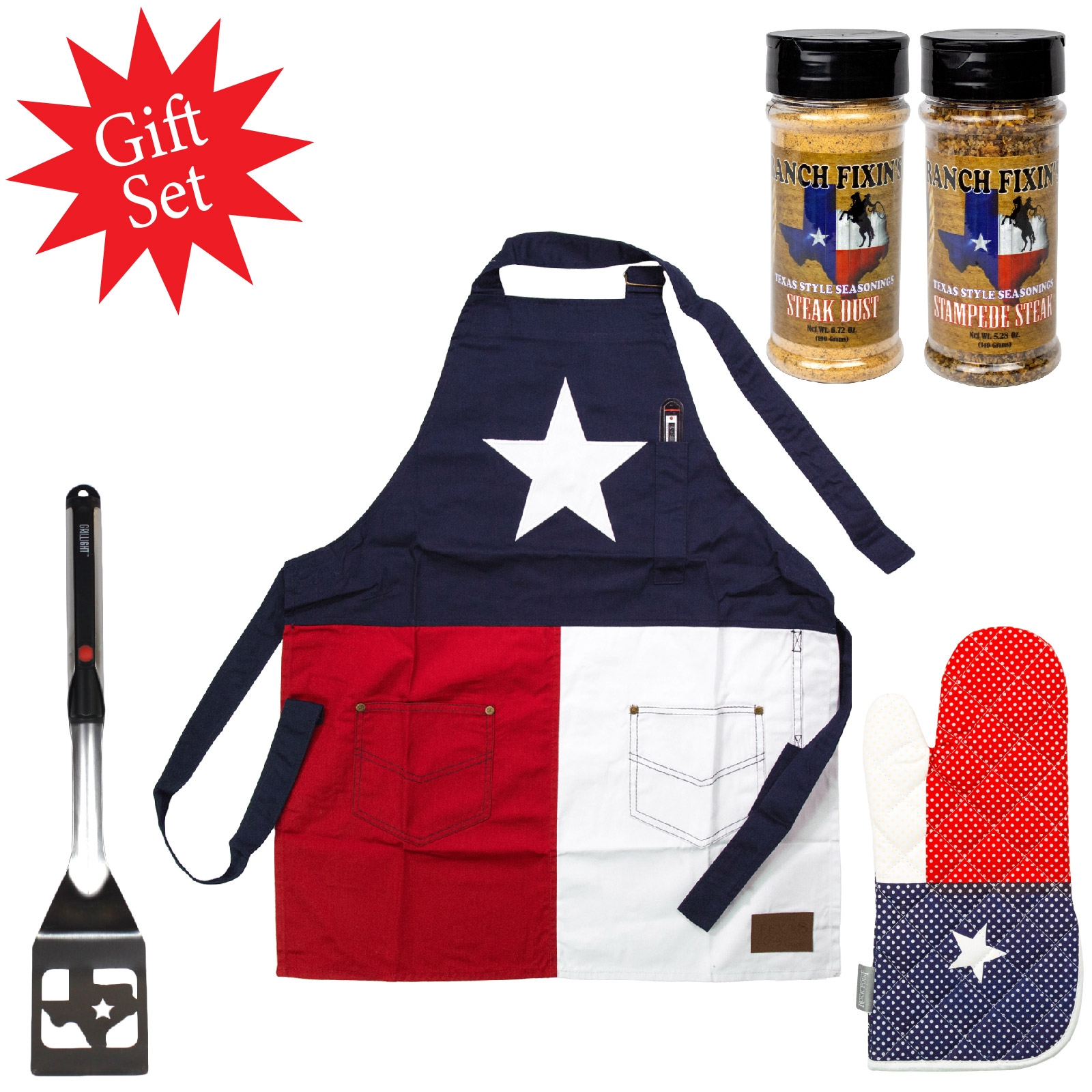Texas Barbecue Gift Set
