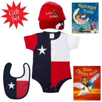 Texas Baby Gift Set
