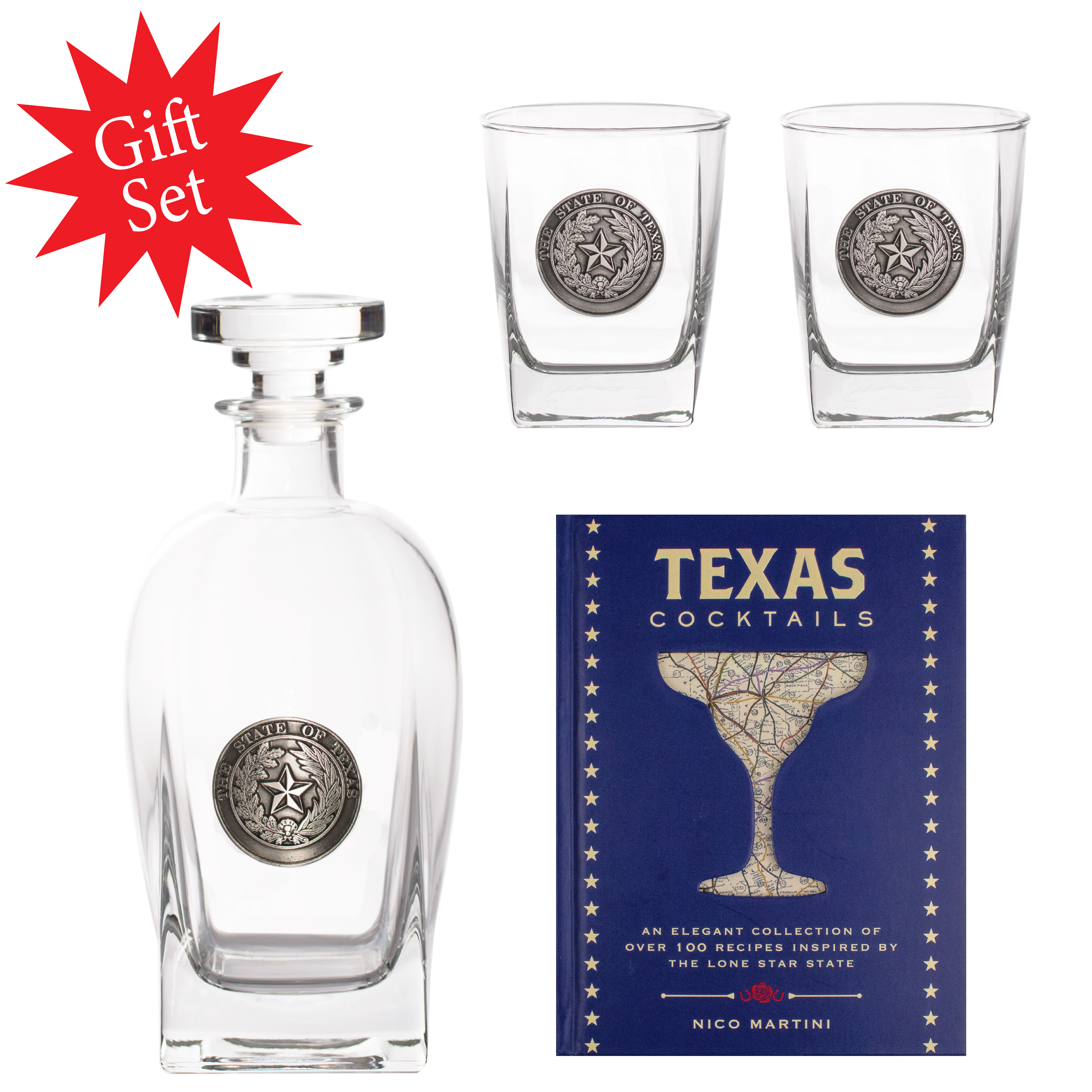 Texas Cocktail Gift Set