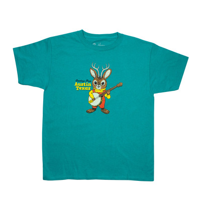 Greetings From Austin Jackalope Youth T-Shirt