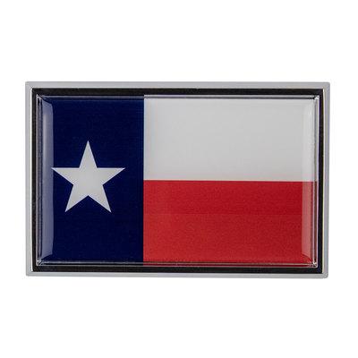 Texas State Flag Chrome Auto Emblem
