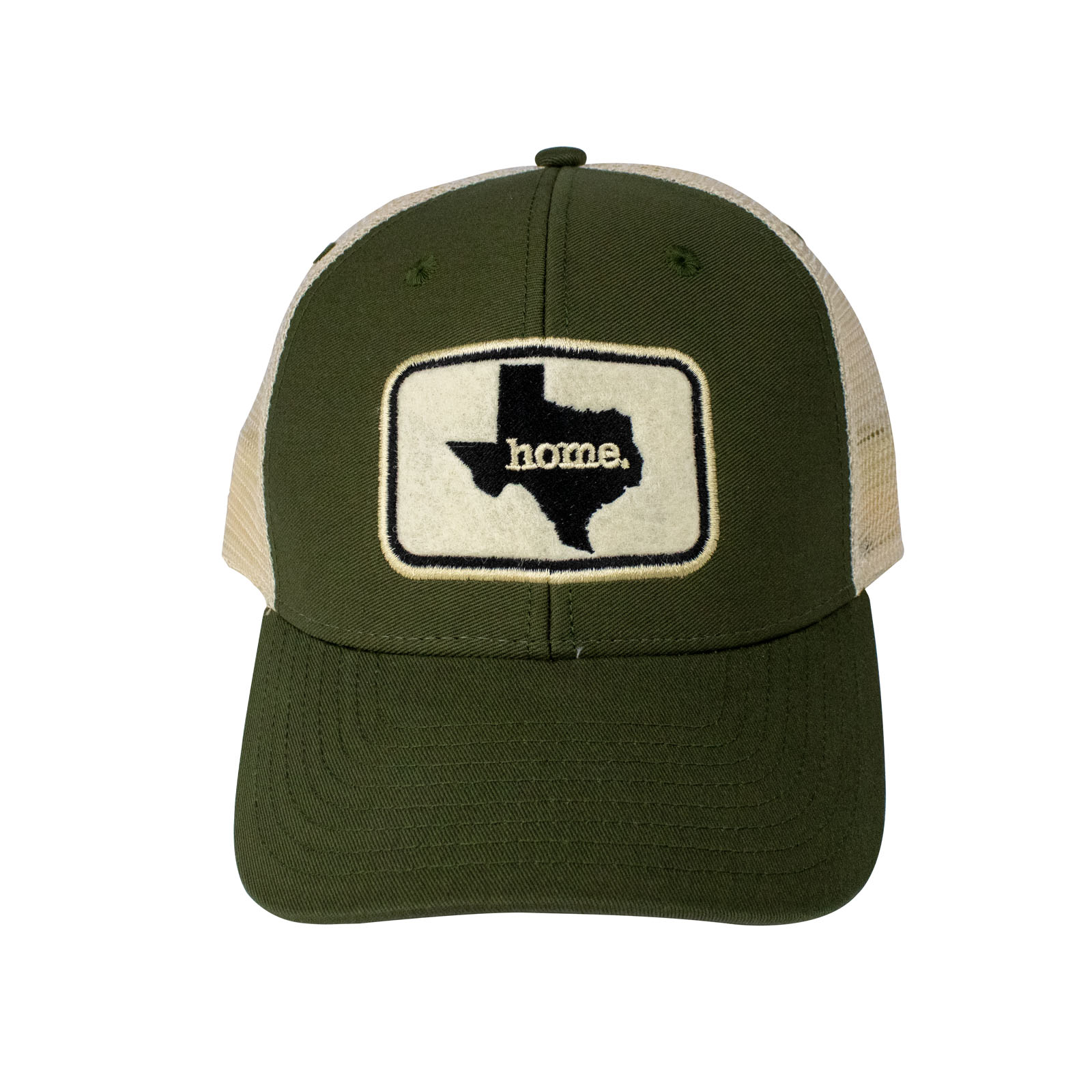 Home Texas Olive Green Trucker Hat