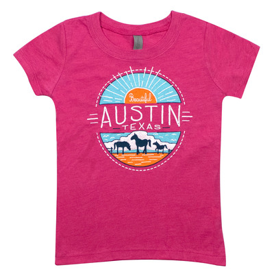 Austin Horses Youth T-Shirt